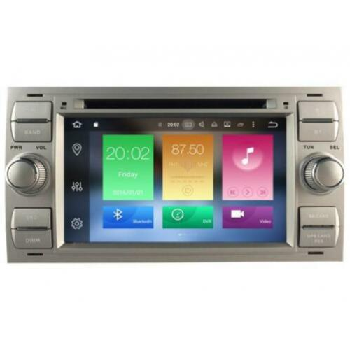 2 din navigatie ford focus dvd carkit android 9 usb dab+