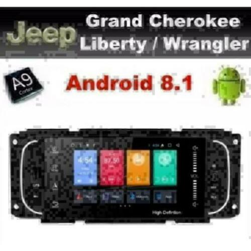 Jeep navigatie Liberty Wrangler 5inch android 8.1 wifi dab+